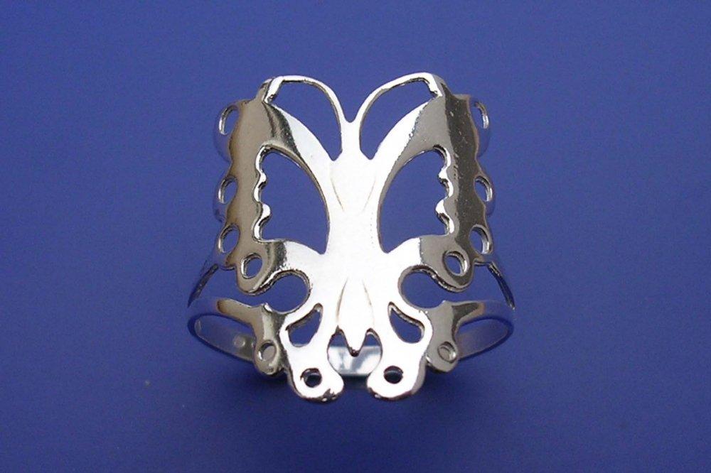 Veneo Prsten motýl P101, Materiál: Stříbro, ryzost 925/000, Velikost: 40 - P101