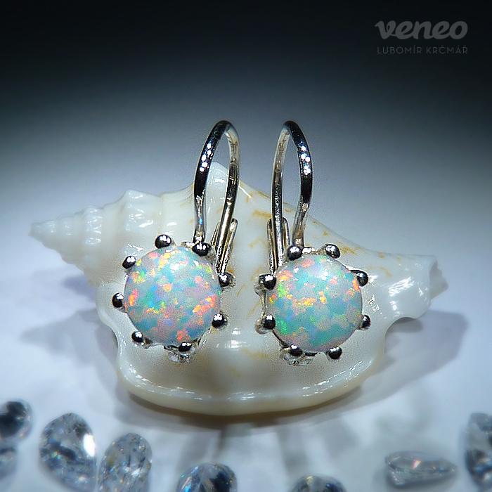 f48cd917f Obrázek produktu Vanesa 6 - opálové náušnice s australskými opály